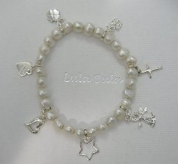 Life's journey charm bracelet and silver charm collection