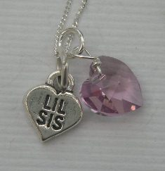 Little sister gift necklace