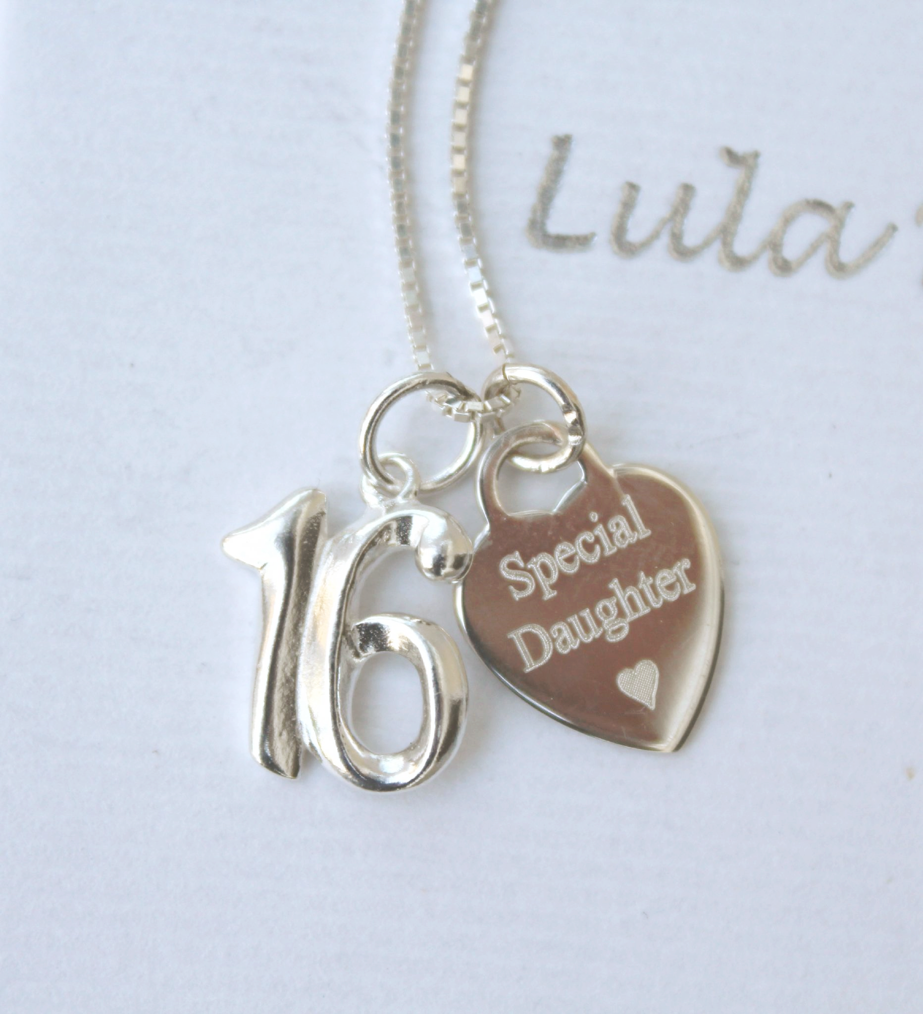 16th Birthday Silver Jewellery Gift For A Daughter