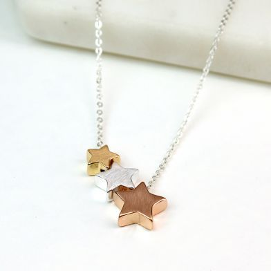 Bridesmaids gift - star necklace